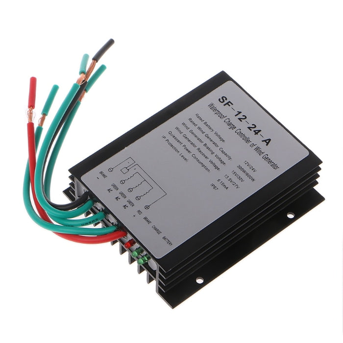 High Efficiency 600W 12V/24V Waterproof Wind Turbine Generator Charge Controller Wind Controller Charge controller Wavetra Energy