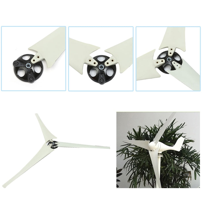 650/750/800mm High strength Wind Turbines Blades Nylon Fiber Windmill Accessories Power Energy Generator Wind turbine Wavetra Energy