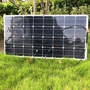 18V 100W Flexible Solar Panel 36pcs Solar Cells Motorhomes Boats Roof 12V Battery Charger 100w Solar Module Solar Panel Wavetra Energy
