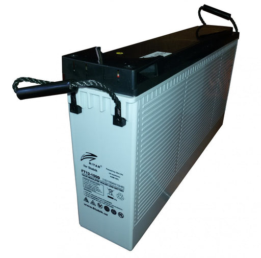 Ritar 12V 105Ah Front terminal AGM Deep cycle Battery Deep cycle batteries Wavetra Energy