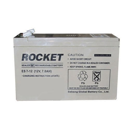 12V 7Ah Rocket AGM VRLA UPS deep cycle battery Deep cycle batteries Wavetra Energy