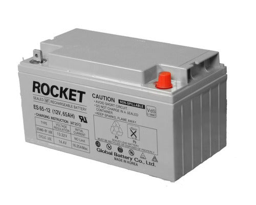 12V 65Ah Rocket AGM VRLA UPS deep cycle battery Deep cycle batteries Wavetra Energy