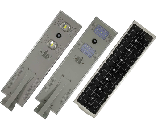 50W Integrated All In One Solar LED Street Light With Panel & Battery LED and Torchlight Wavetra Energy