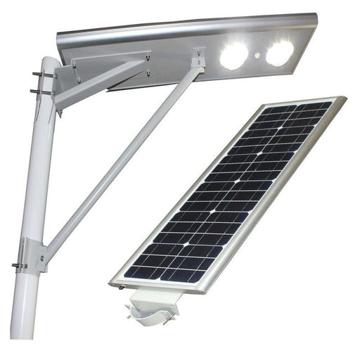 40W Integrated All In One Solar LED Street Light With Panel & Battery LED and Torchlight Wavetra Energy