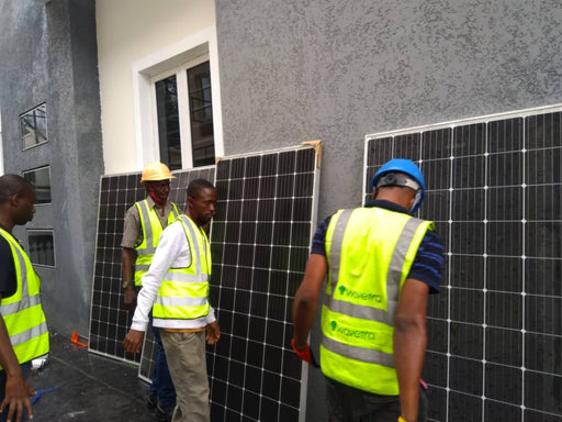 Intensive solar and Inverter installation training in Nigeria