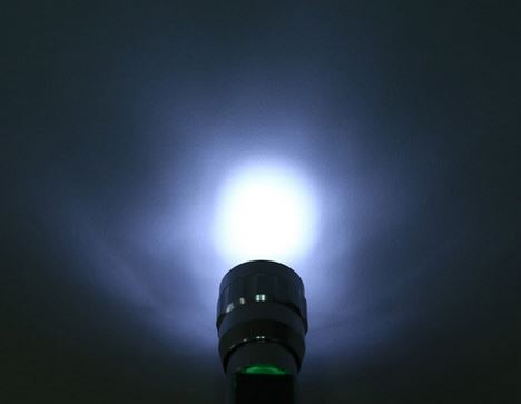 Solar Torch Light (LED) with Optional USB Rechargeable Cable LED and Torchlight Wavetra Energy
