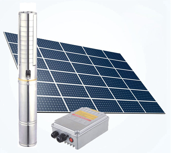 1300w 72v  110m DC Brushless Solar Powered Borehole Water Pump