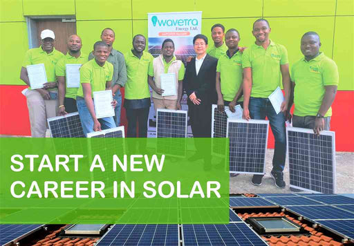 Online Intensive solar installation training in Nigeria Wavetra Energy Academy Wavetra Energy