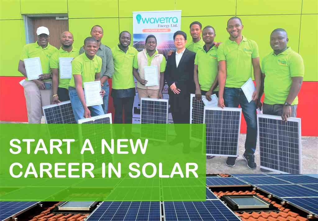 Solar inverter training in Lagos Nigeria, Wavetra Energy Academy