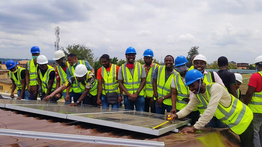 Advanced Solar Installation training and Inverter UPS repair