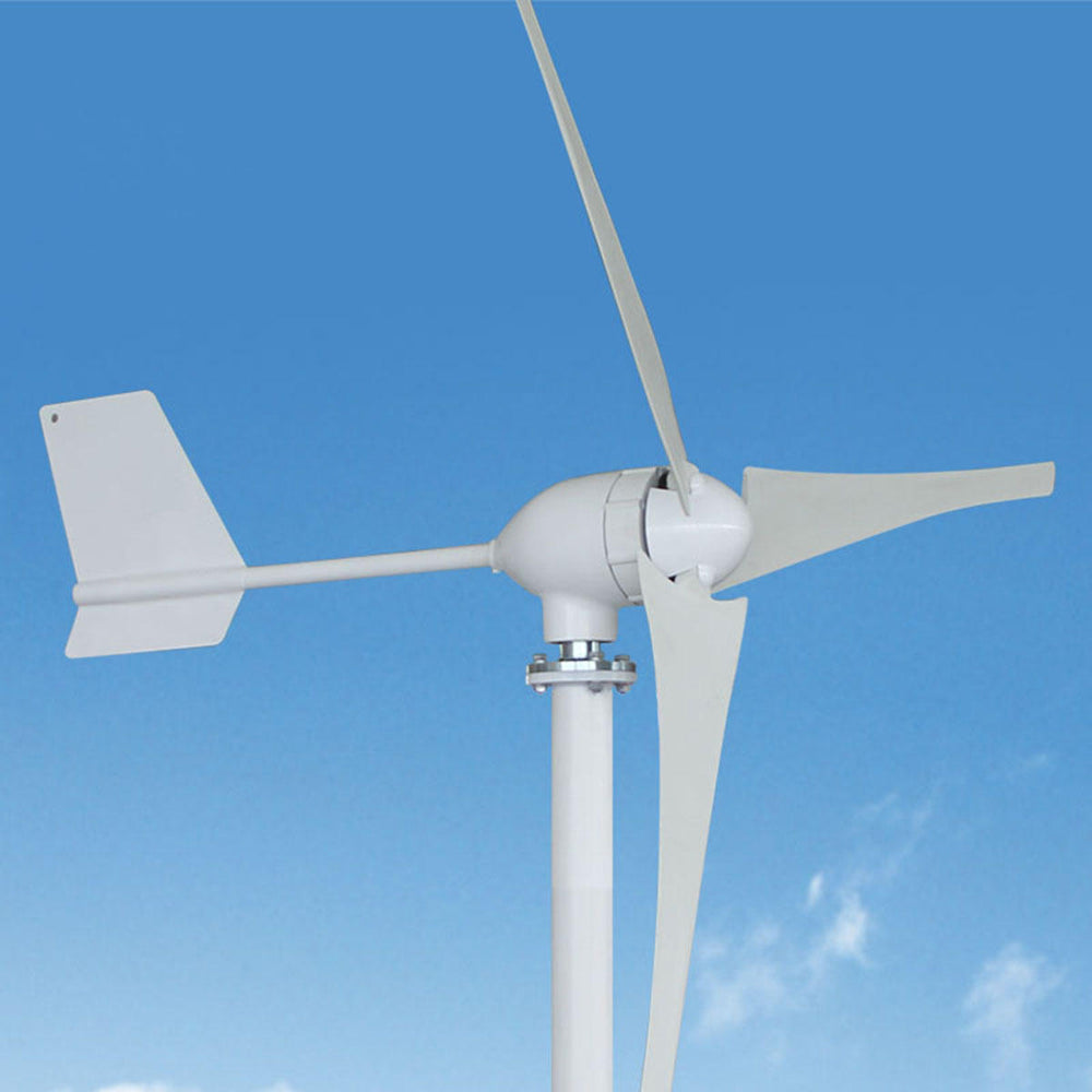 Wavetra 800W 12V 24 V 48 Volt 3 Nylon Fiber Blade Horizontal Home Wind Turbines Wind Generator Power Windmill Energy Turbines Charge Wind turbine Wavetra Energy