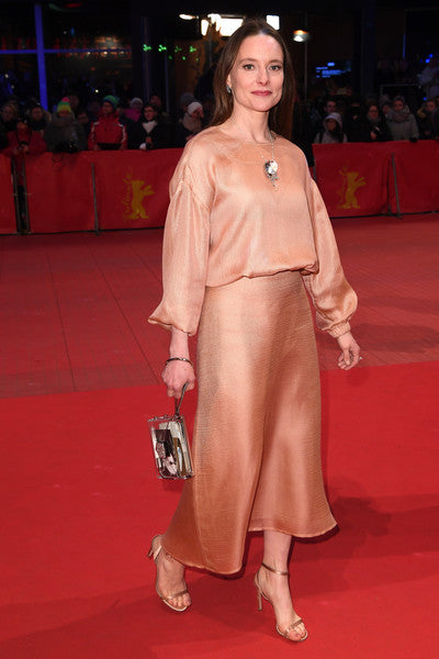 Anne Ratte-Polle in Medvedeva Jewellery at the 64th Berlinale