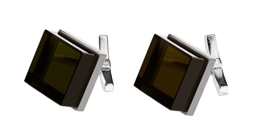Ink Cufflinks in silver by Velar