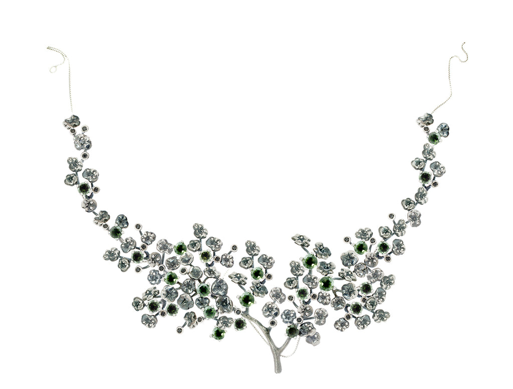 Neliotrope Garden Necklace