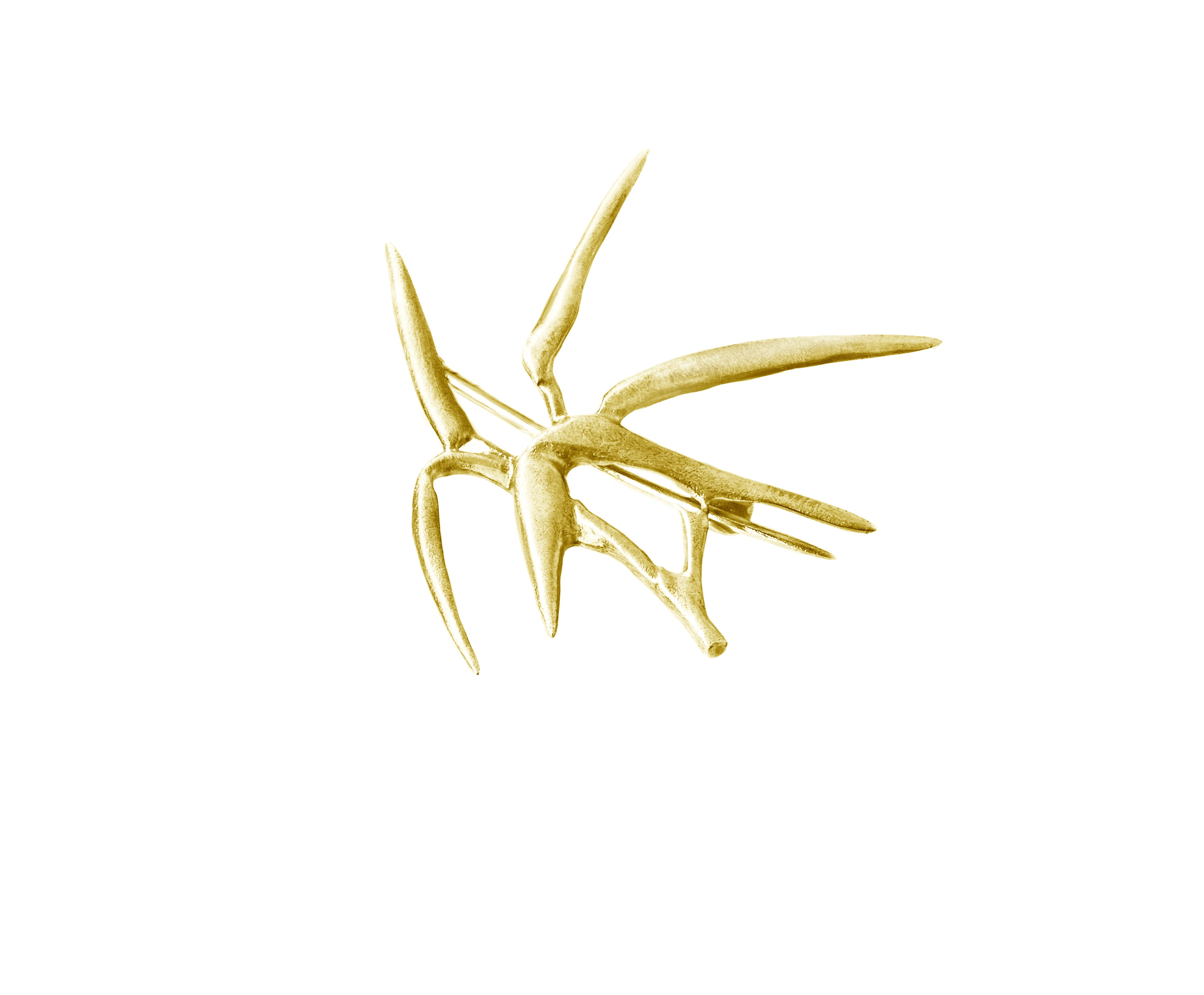 Bamboo brooch No.1