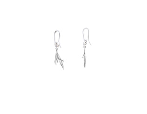 Rosemary earrings in silver by Sweet Peas