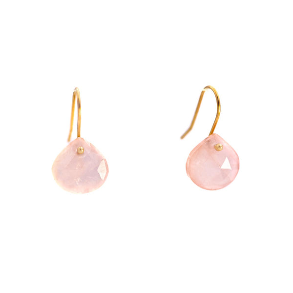 Rose Purity Earrings