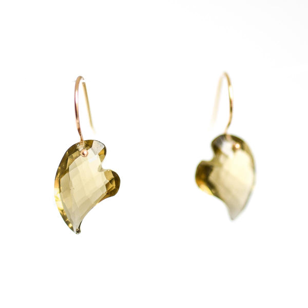 Swooping Heart Earrings