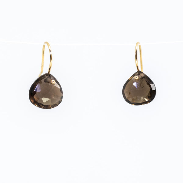Smoky Drop Earrings