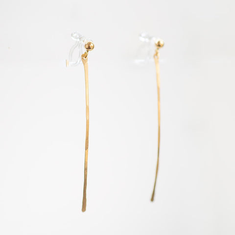 Harvest Gold Clip-on Earrings