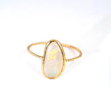 Opal Clarion Twist Ring (option C)