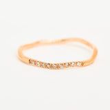 Wandering Path Rose Gold Ring