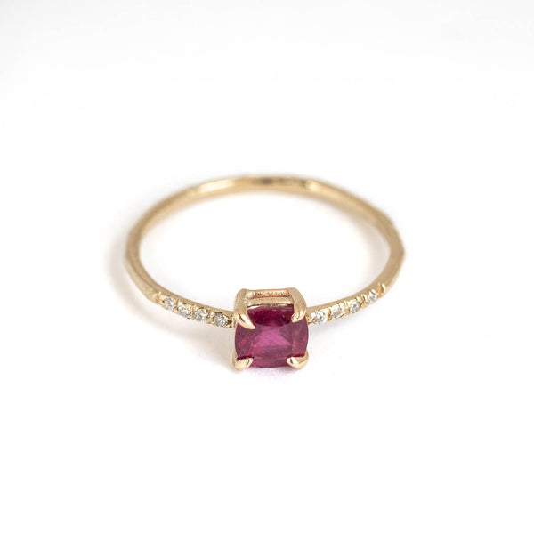 Madagascar Ruby Sparkle Ring