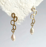 Klimt Pearl earrings