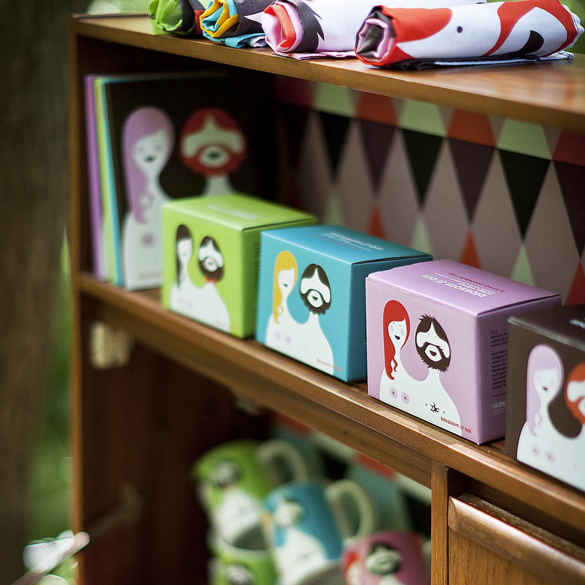 ISAK Co UK product line with Blossom and Bill collection