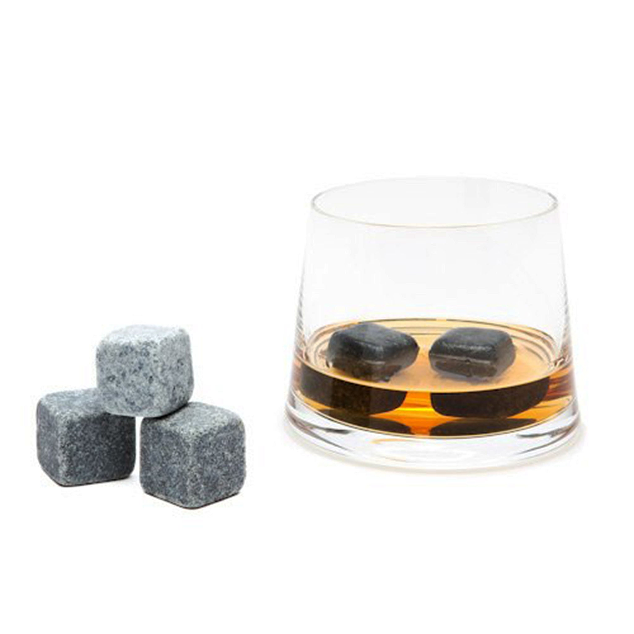 Whisky Stones by Teroforma. Soapstone cubes that cool your drink without watering it down.