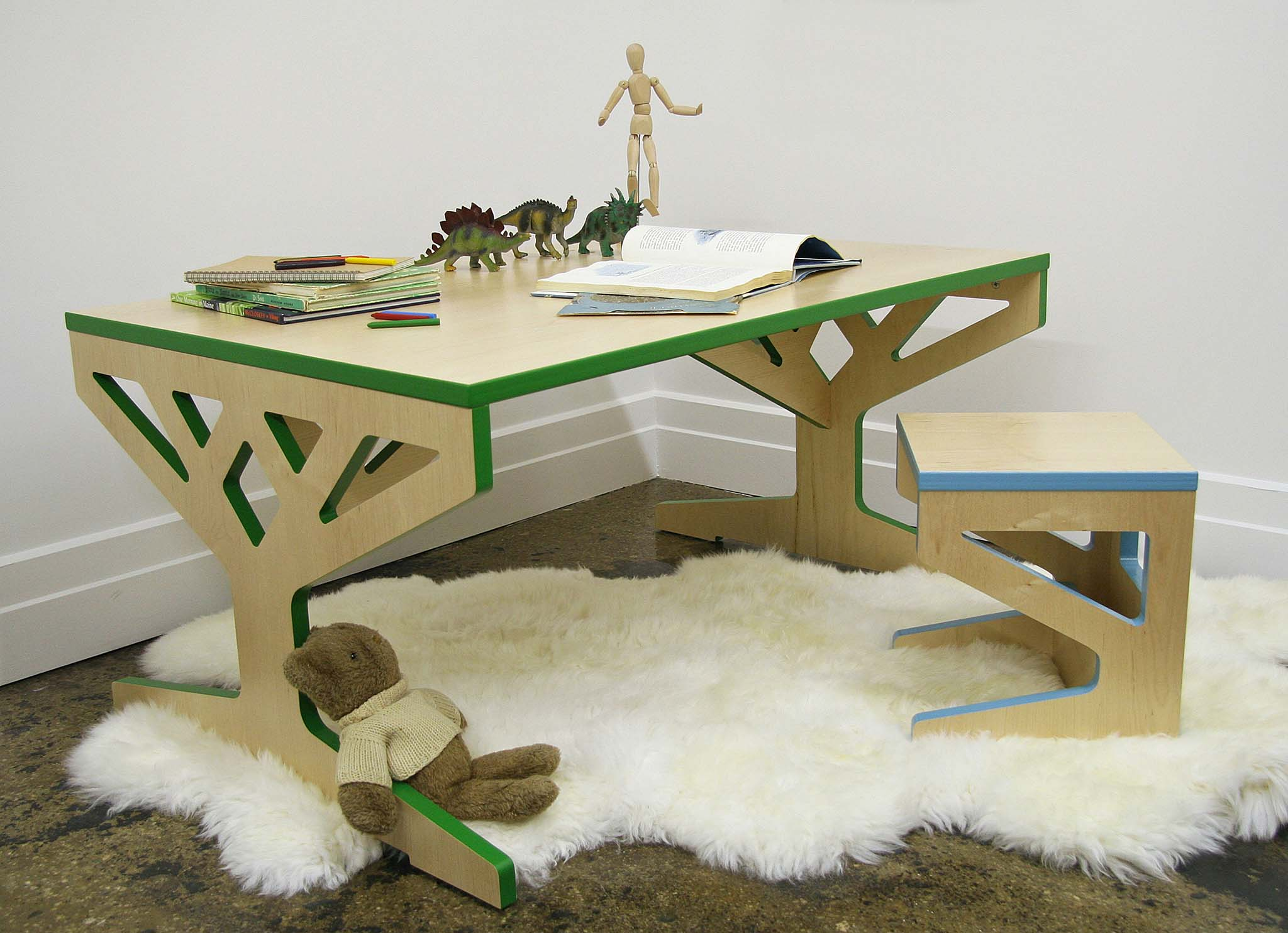 Tree Table Collection by April Hannah. Nature inspired. Eco-friendly.