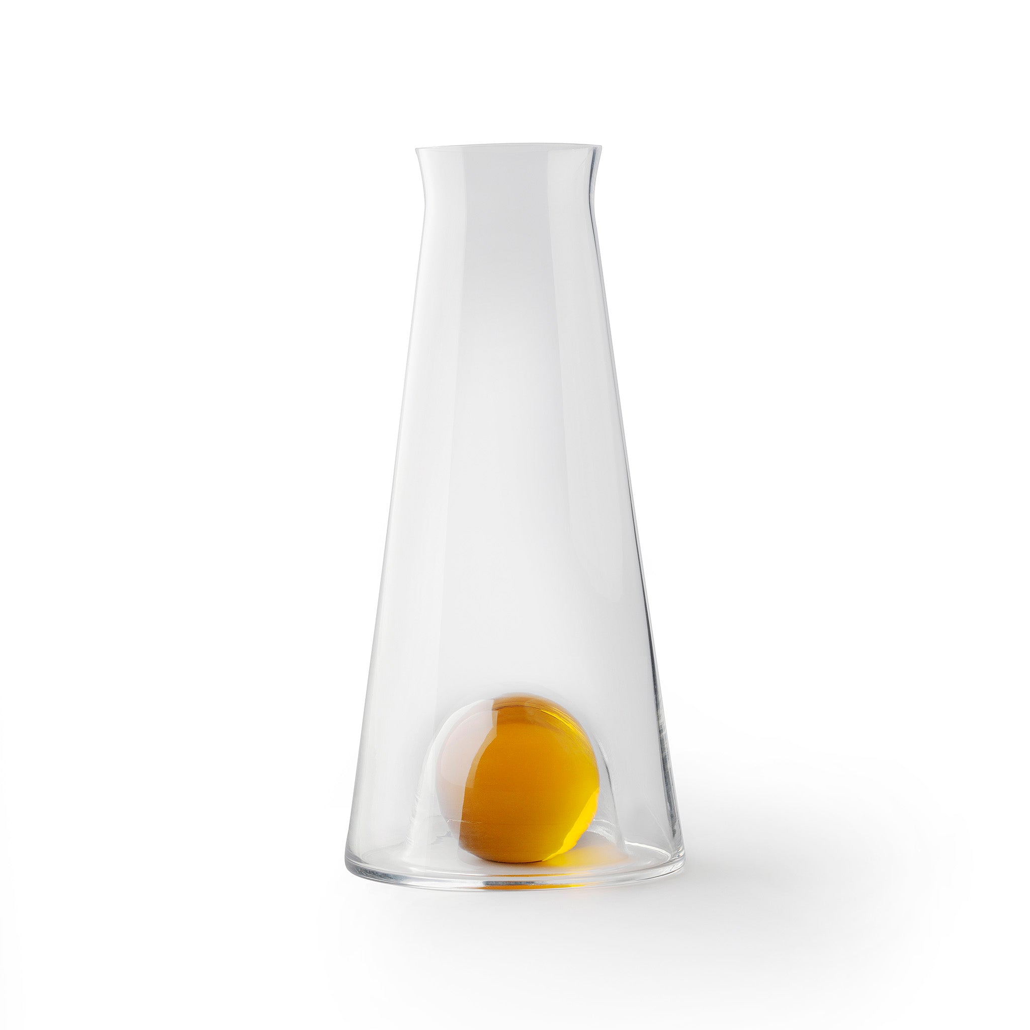 """Fia Carafe by Nina Jobs for Design House Stockholm. """"Serve Beaujolais nouveau in style."""""""