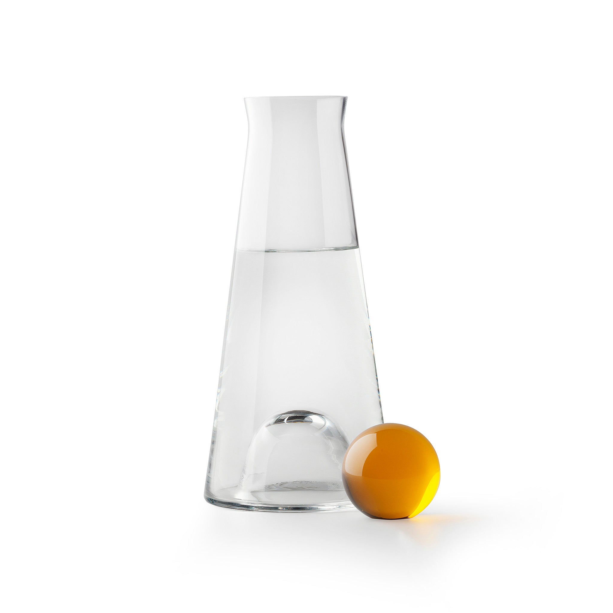 Fia Carafe by Nina Jobs for Design House Stockholm. Wine. Water. Oil. Vinegar. Indispensable on any table, and always in need of a proper presentation. Preferably made in glassware.