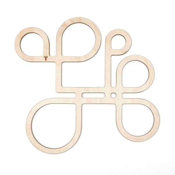 """Inside Out """"Model A"""" birch-plywood trivet by TOMA Objects"""