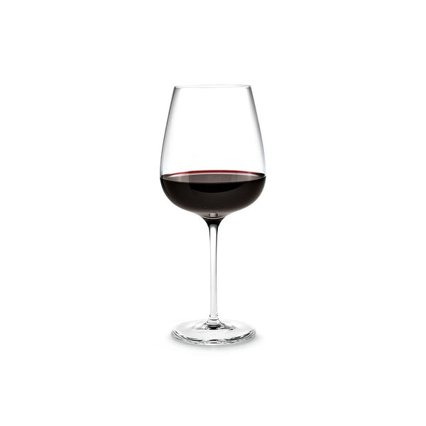 HOLMEGAARD BOUQUET RED WINE GLASS. SKU 4803113. Height: 23 cm. Volume: 62cl. Dishwasher safe up to a maximum of 55°C.