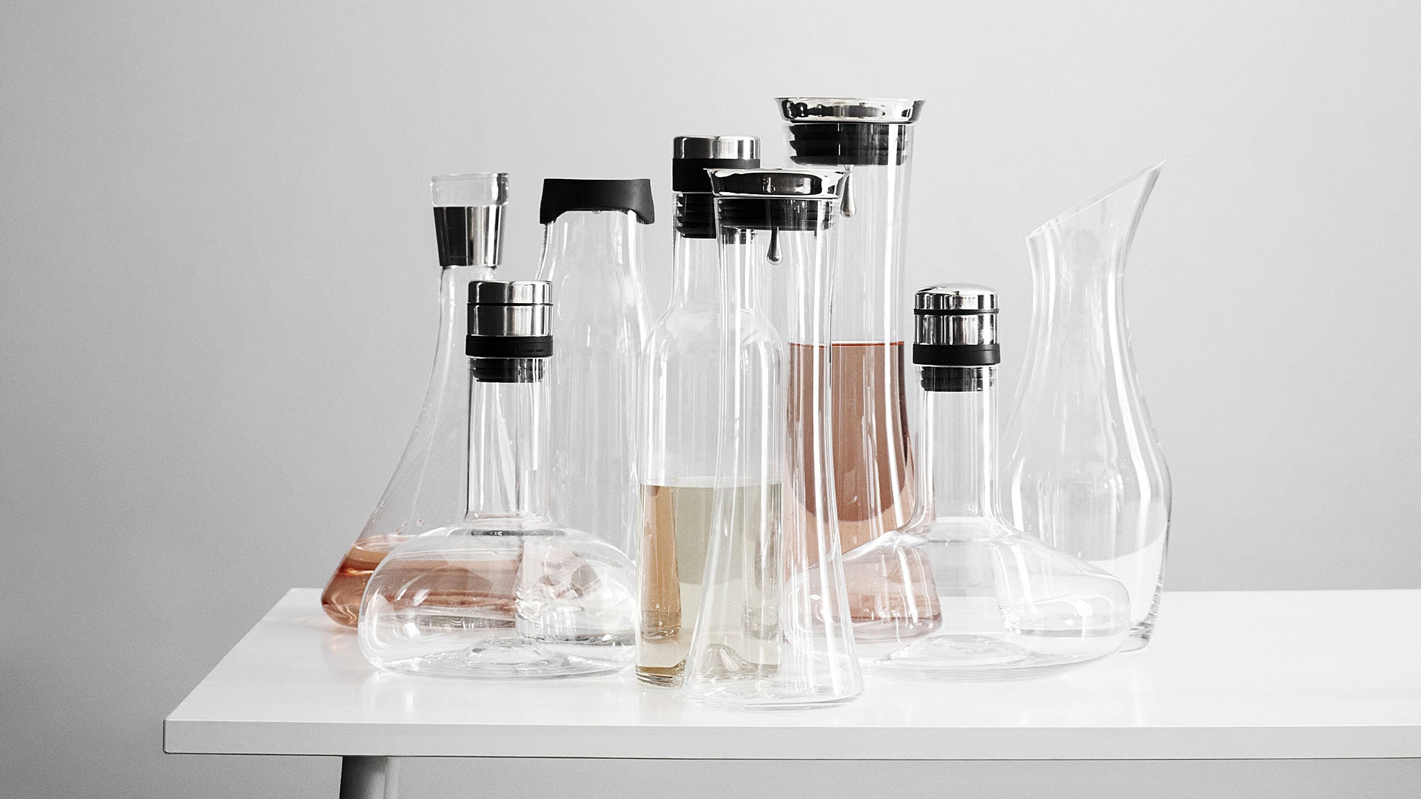 Wine Breather and Bottle Series by Norm Architects for MENU AS
