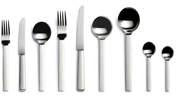 DAVID MELLOR CUTLERY Odeon stainless steel collection