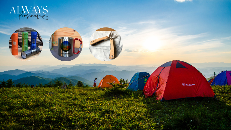 Personalised camping gifts