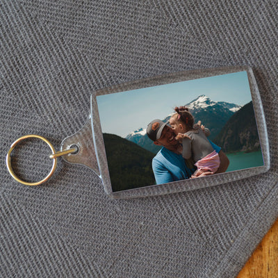 Personalised photo keyrings