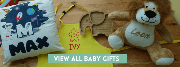 All personalised baby gifts