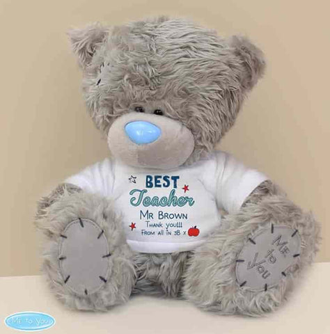Personalised me to you bear for teacher