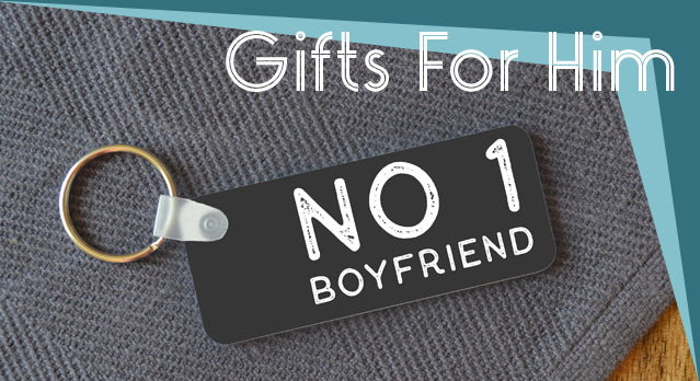 Personalised Valentine's day gifts for him