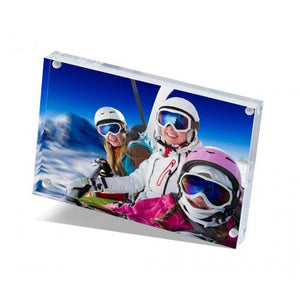 Personalised Crystal Acrylic Photo Block - Multiple Sizes Available
