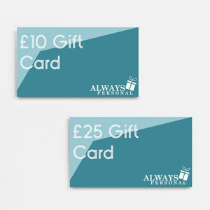 Always Personal Gift Card