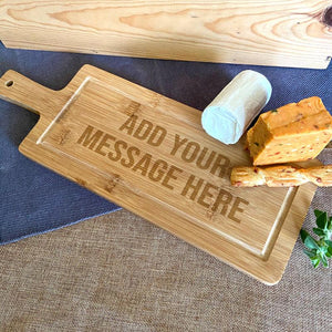 Personalised Bamboo Chopping Board Any Message