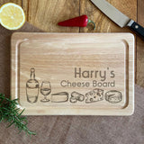 Personalised Rectangle Wooden Cheese Board