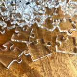 Impossible Clear Jigsaw Puzzle - Transparent Acrylic - Ideal Lockdown Gift