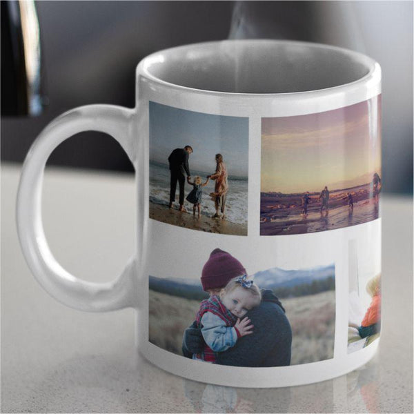 Personalised Collage Photo Mug