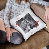 Personalised Printed Couples Photo Cushion