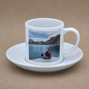 Personalised Photo Cup and Saucer